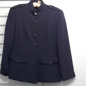 DANA BUCHMAN nautical blazer sz. P10